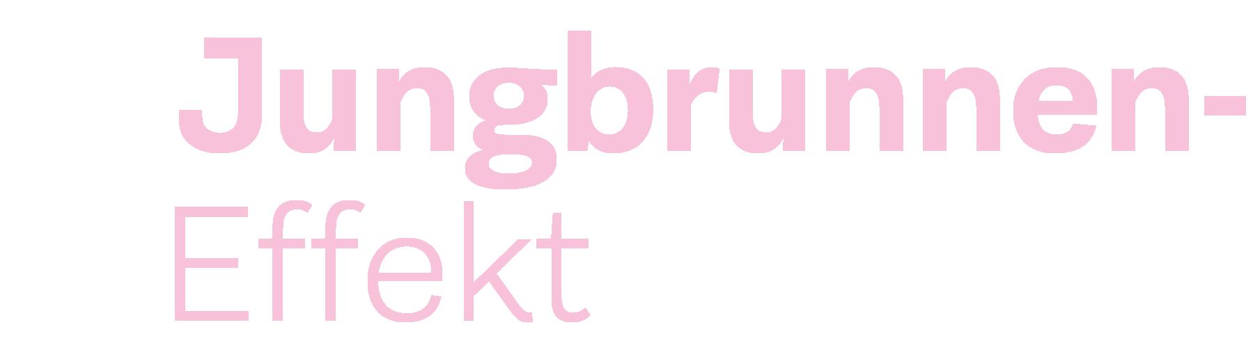 Logo Jungbrunneneffekt